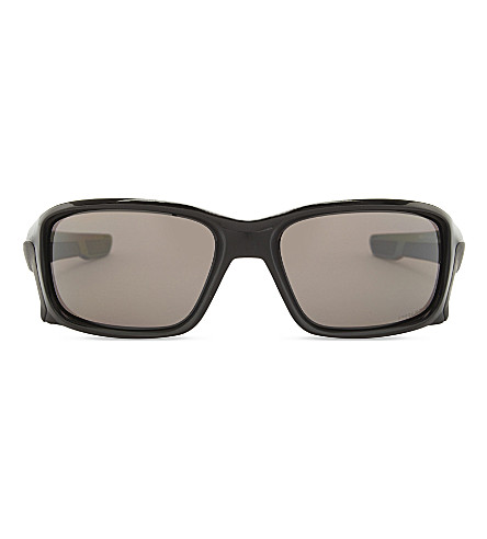 OAKLEY Oo9331 rectangle-frame sunglasses (Black