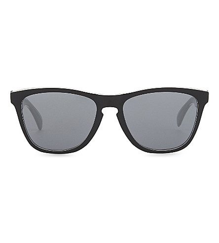 OAKLEY Oo9013 square-frame sunglasses (Clear