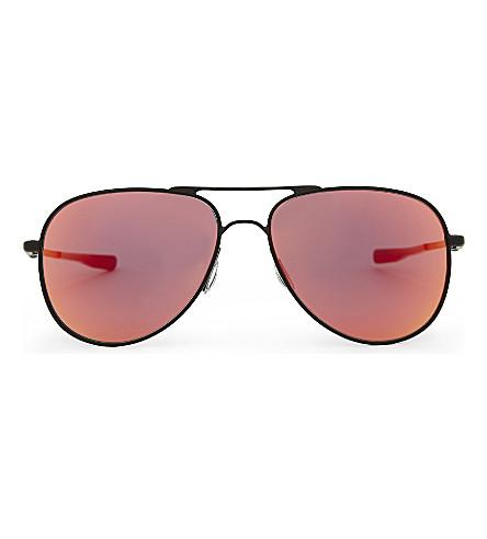 OAKLEY OO4119 Elmont aviator-frame sunglasses (Black