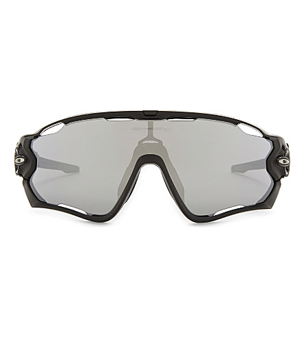OAKLEY Oo9290 Jawbreaker rectangle-frame sunglasses (Black