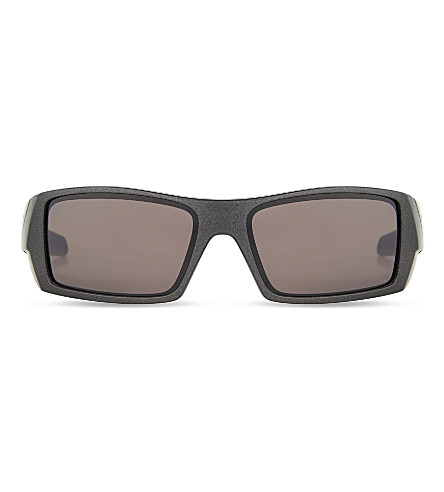 OAKLEY Oo4119 rectangle-frame sunglasses (Grey