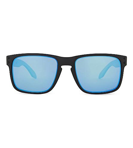 OAKLEY Holbrook PRIZM square-frame sunglasses (Matte+black