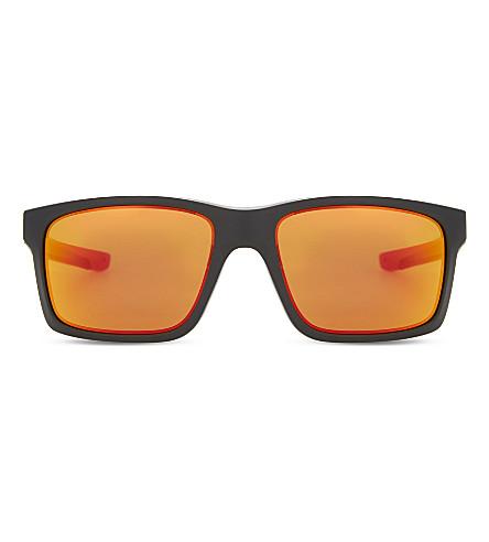 OAKLEY Oo9264 Mainlink square-frame sunglasses (Matte+black
