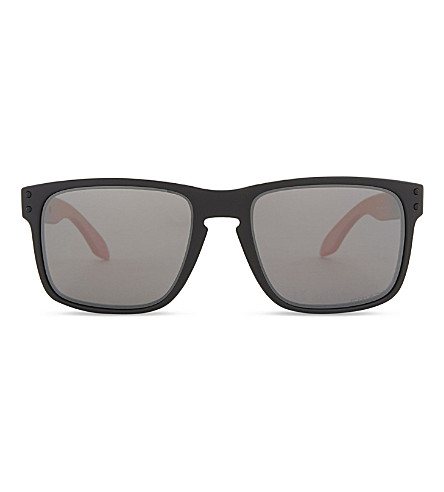OAKLEY Oo9102 Holbrook square-frame sunglasses (Ruby