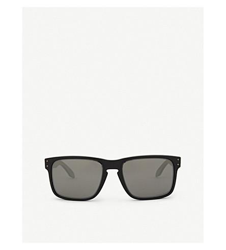 OAKLEY OO9102 Holbrook square-frame sunglasses (Matte+black