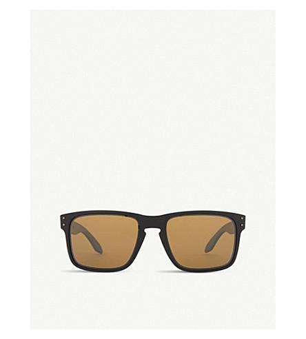 OAKLEY Oo9102 方框太阳镜 (哑光 + 黑色