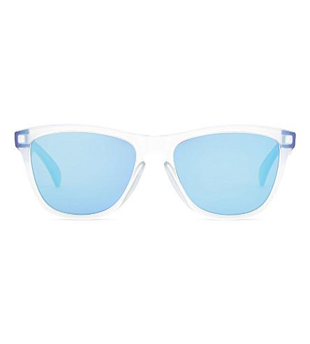 OAKLEY Oo9013 square-frame sunglasses (Matte+clear