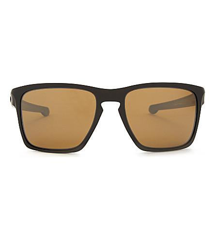 OAKLEY OO9341 square-frame sunglasses (Matte+black