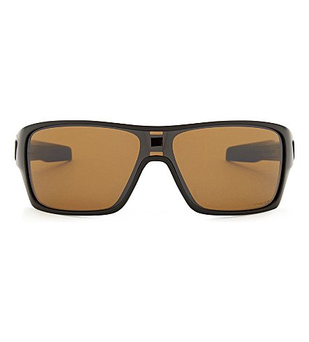 OAKLEY OO9307 Turbine square-frame sunglasses (Matte+black