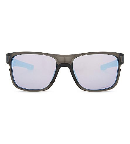 OAKLEY Crossrange Prizm™ Snow square-frame sunglasses (Grey