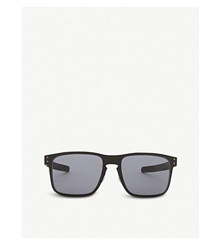 OAKLEY OO4123 Holbrook square-frame sunglasses (Matte+black
