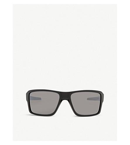 OAKLEY Oo9380 Double Edge square-frame sunglasses (Polished+black