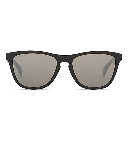 OAKLEY Oo9013 Frogskins square-frame sunglasses (Black