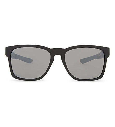 OAKLEY Oo9272 Catalyst square-frame sunglasses (Matte+black