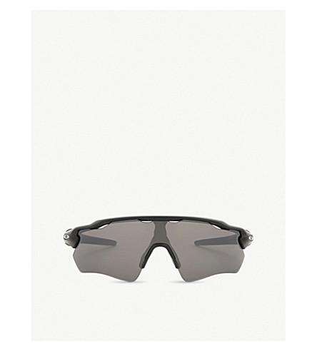 OAKLEY Oo9208 Radar EV Path rectangle-frame sunglasses (Matte+black