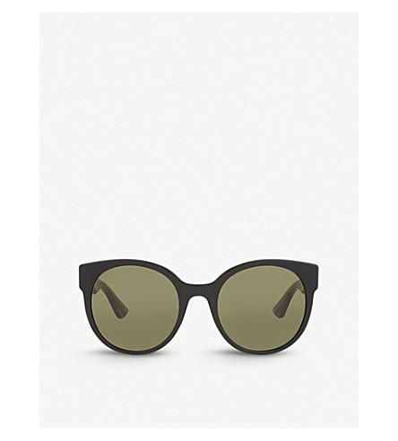 GUCCI GG0035S round sunglasses (Black
