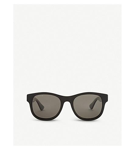 GUCCI Gg0003s square-frame sunglasses (Black