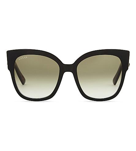 GUCCI GG0059s square-frame sunglasses (Black