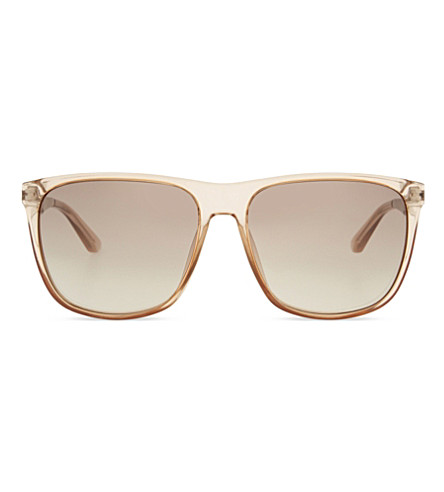 MARC JACOBS MMJ424 Square-frame sunglasses (Tan