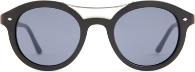 Giorgio Armani Glasses Frame Mens : GIORGIO ARMANI - Frames of Life round-frame sunglasses ...