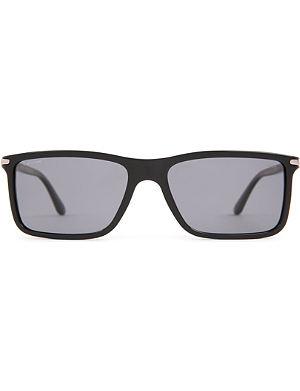 GIORGIO ARMANI Frames of Life slim square-frame sunglasses
