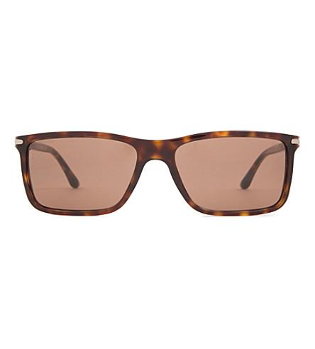 GIORGIO ARMANI Havana Frames of Life sunglasses (Havana