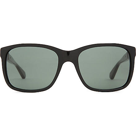 GIORGIO ARMANI Timeless Elegance square-framed sunglasses (Black