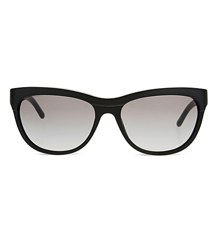 BURBERRY B4176 square-frame sunglasses (Black