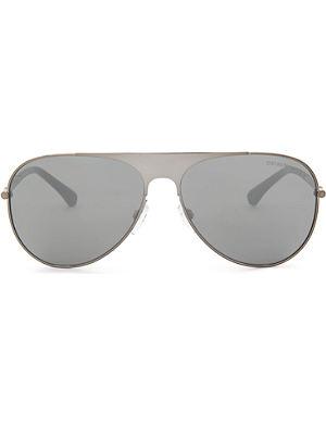 EMPORIO ARMANI Aviator-style sunglasses