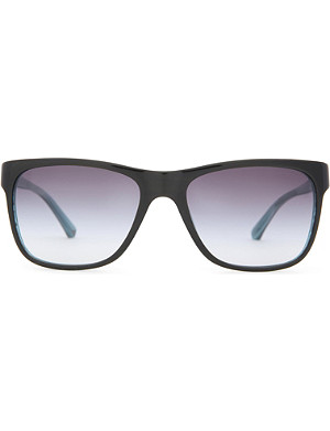 EMPORIO ARMANI Wayfarer-style sunglasses