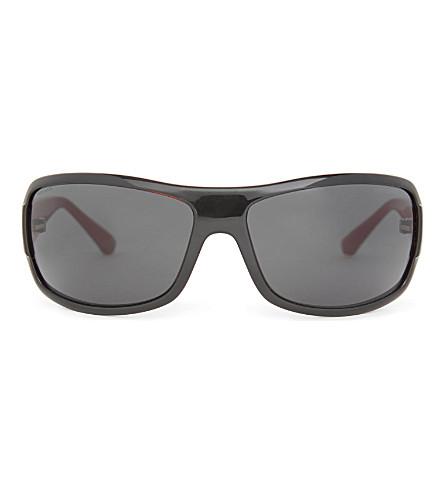 EMPORIO ARMANI D-frame sunglasses (Black