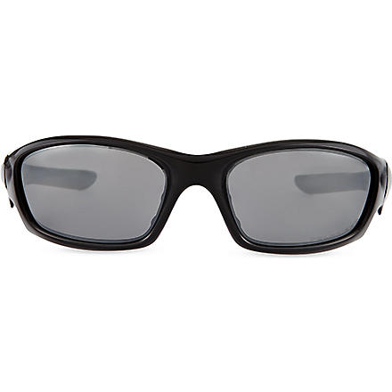OAKLEY Straight Jacket wrap-around sunglasses (Black