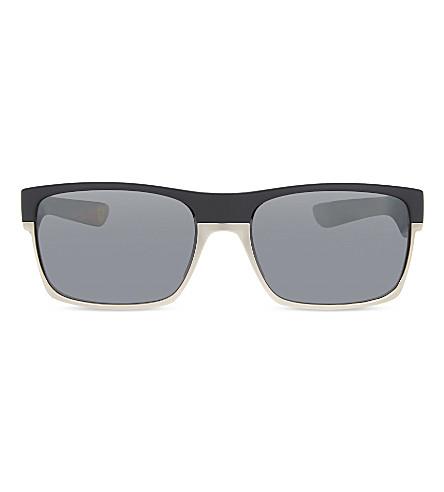 OAKLEY Oo9189-20 scuderia ferrari® twoface™ square-frame sunglasses (Matte+black