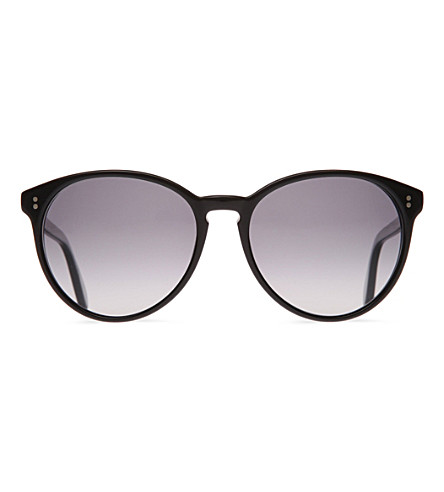 OLIVER PEOPLES Corrie round sunglasses (Black