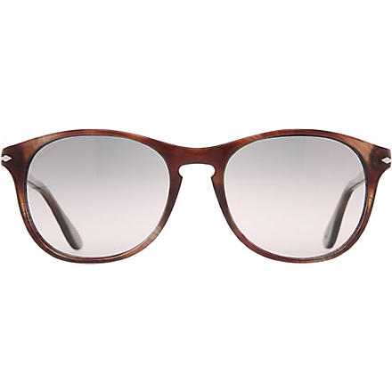 PERSOL Suprema tortoiseshell round-frame sunglasses (Brown havana/smoke