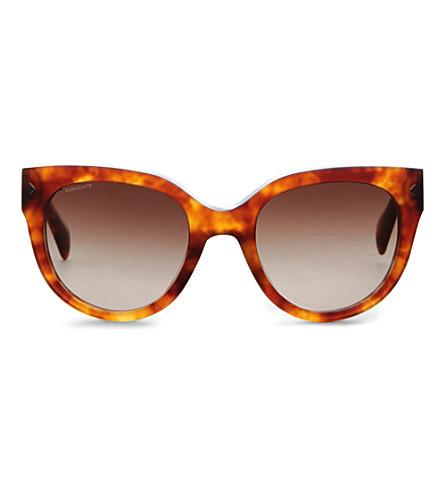 PRADA Vintage style tortoiseshell sunglasses (Light+havana