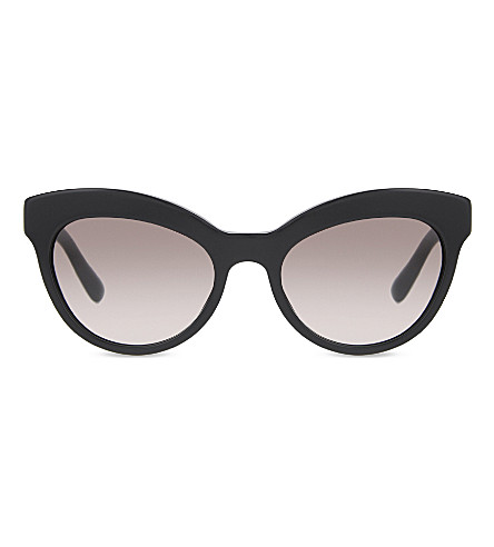 PRADA AB0A7 cat-eye frame sunglasses (Black