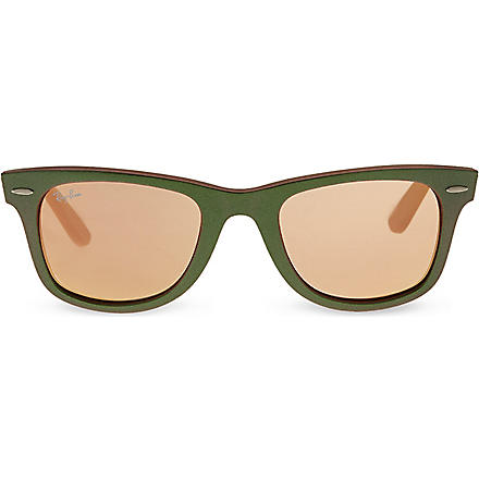 RAY-BAN RB2140 wayfarer sunglasses (Green
