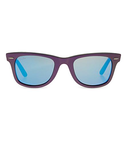 Ray Ban Purple Lens