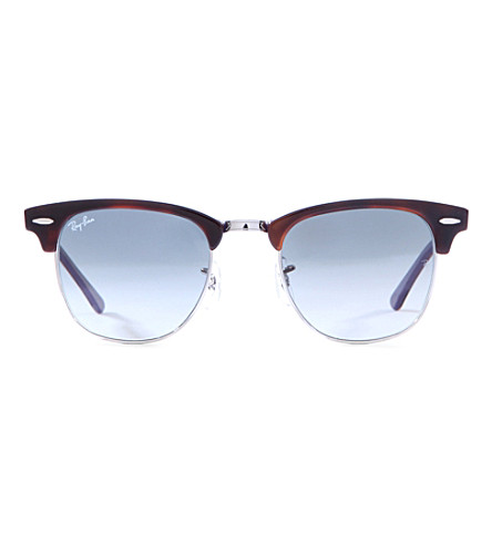 RAY-BAN Rb3016 Clubmaster sunglasses (Top+shiny+havana
