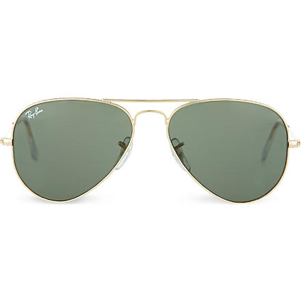 RAY-BAN Original aviator metal-frame sunglasses RB3025 (Metal
