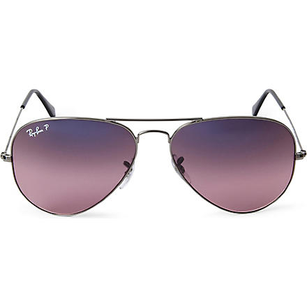 RAY-BAN Aviator polarized sunglasses