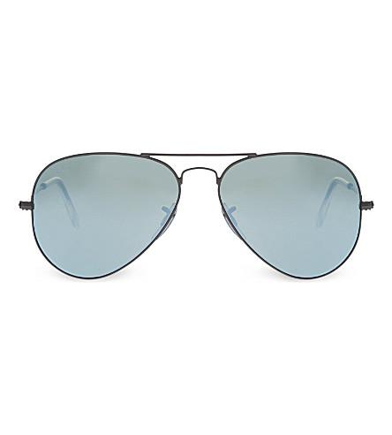 RAY-BAN Metal-frame sunglasses RB3025 (Green
