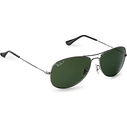 RAY-BAN Aviator sunglasses (Gun