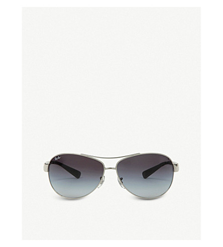 RAY-BAN RB3386/67 Aviator sunglasses (Black