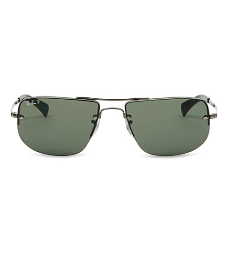RAY-BAN Polarised sunglasses (Gunmetal