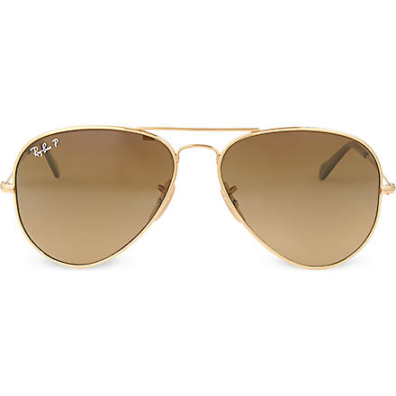RAY-BAN Aviator sunglasses (Gold