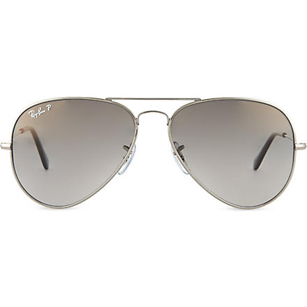 RAY-BAN Aviator sunglasses (Silver