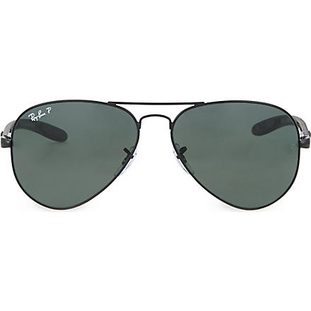 RAY-BAN Aviator sunglasses (Black