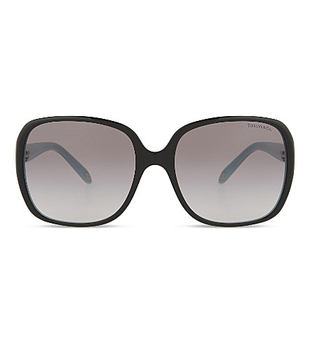 TIFFANY & CO TF4056 Keys square-frame sunglasses (Black